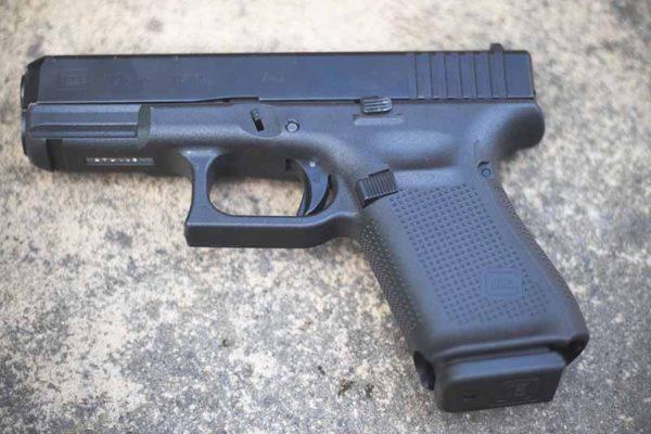 Glock Gen 5 G19 600x400 - Blue Label Glock 17 Gen 5 9mm FS - Black - PA175S202