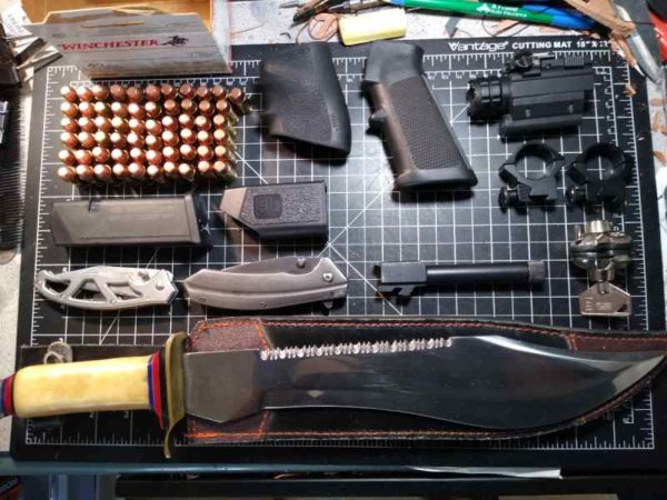 Gun accessories and knives 600x450 - Gun accessories and knives