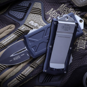 "Microtech Exocet Money Clip OTF Knife Cali Legal 300x300 - Microtech Exocet Money Clip OTF Knife Cali Legal 1.9"" Black 157-1"