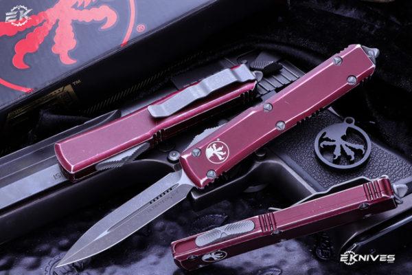 Microtech Ultratech OTF Automatic Knife Merlot 2 600x400 - Microtech Ultratech OTF Automatic Knife Merlot