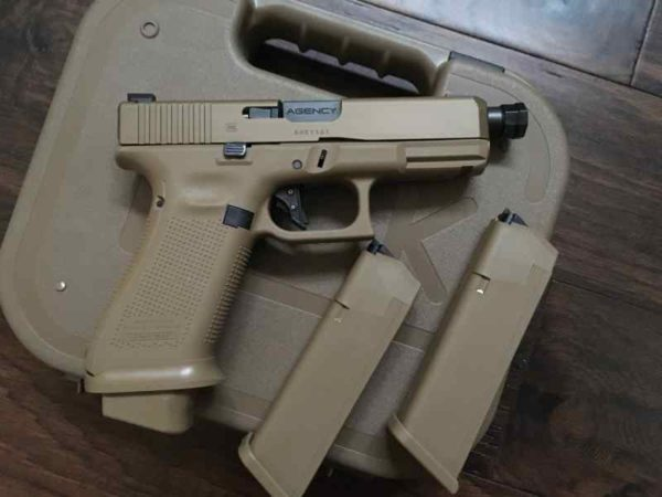 NEW Glock 19X with Agency Arms extras 600x450 - NEW Glock 19X with Agency Arms extras