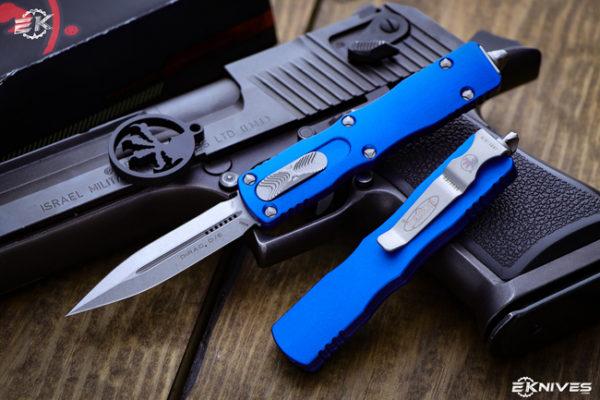 OTF Automatic Knife 1 600x400 - Microtech Dirac Red OTF Automatic Knife