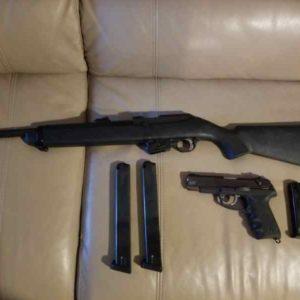 semi auto 300x300 - Ruger Police issue Combo. 9m Carbine & P89 semi au