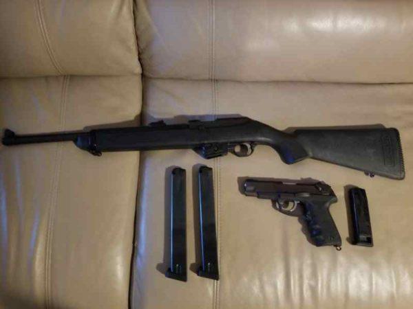 semi auto 600x450 - Ruger Police issue Combo. 9m Carbine & P89 semi au