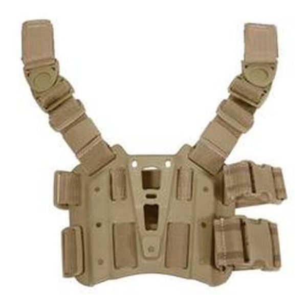 BH 600x600 - BLACKHAWK! SERPA Tactical Drop Leg Holster Platform Coyote Tan