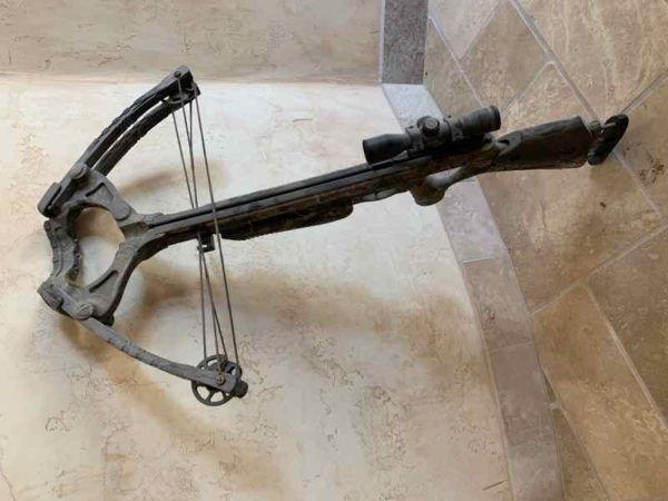 archh 600x450 - Barnett Predator Crossbow with scope and bolts for sale
