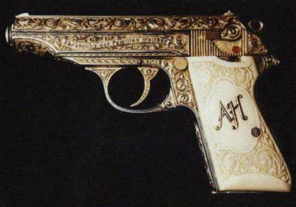 hitler 600x420 - Hitler's Golden Gun