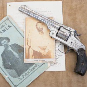 james 2 300x300 - The Gun that killed Jesse James