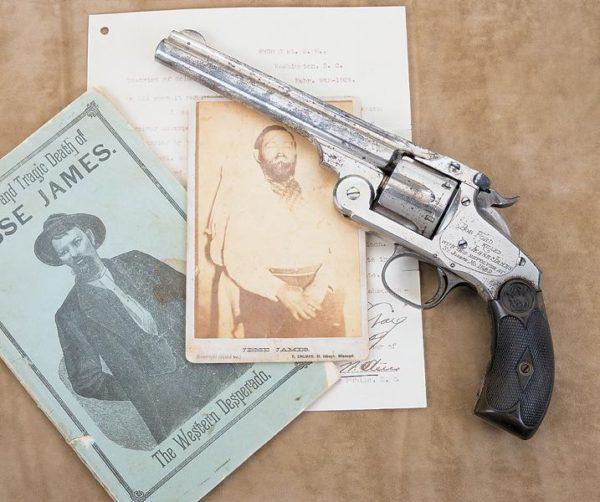 james 2 600x502 - The Gun that killed Jesse James