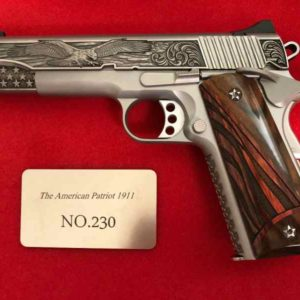 patiot 300x300 - Kimber 1of 300 American Patriot 1911 .45 custom for sale