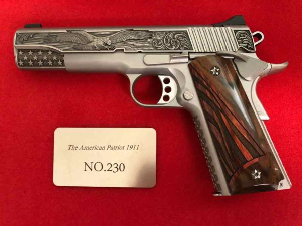 patiot 600x450 - Kimber 1of 300 American Patriot 1911 .45 custom for sale