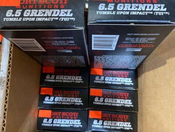 16 2 - 6.5 GRENDEL FORT SCOT 1000RDS