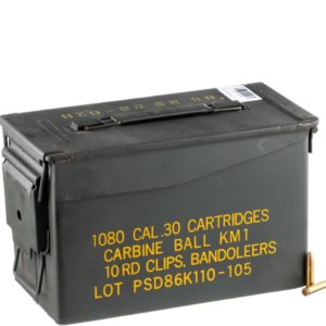 2 1 300x300 - 1000RDS of .30 Carbine Ammo in Ammo Can by Korean Military Surplus – 110gr FMJ