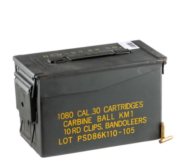 2 1 600x513 - 1000RDS of .30 Carbine Ammo in Ammo Can by Korean Military Surplus – 110gr FMJ