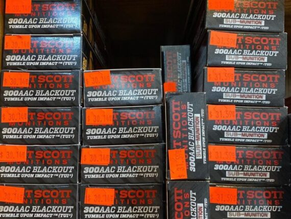 8 3 - 300AAC BLACKOUT FORT SCOT MUNITION 1000RDS