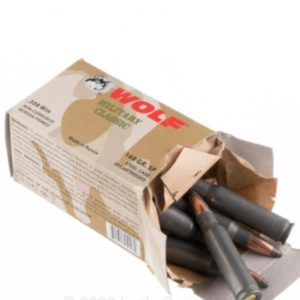 9 1 300x300 - 308 – 168 Grain SP – Wolf Military Classic – 1000Rounds