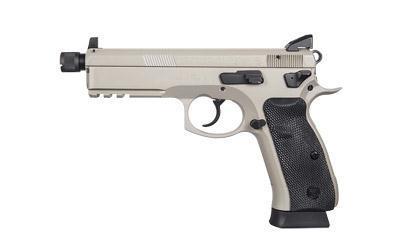 CZ 75 Sp 01 9mm 4.622 Gry Sr Ns 18rd - CZ 75 SP-01 9mm 4.6″ Gry Sr Ns 18rd
