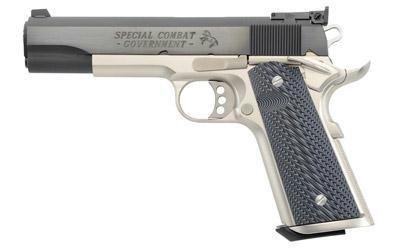 Colt Spec Comb Govt 38sup 522 Carbnk - Colt Spec Comb Govt 38sup 5″ Carb/nk