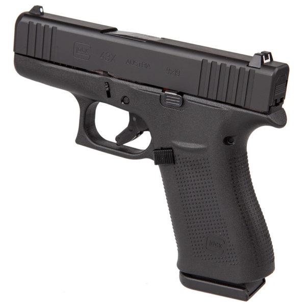 Glock 43X 9mm Black Market 600x600 - Buy Glock 43X Black