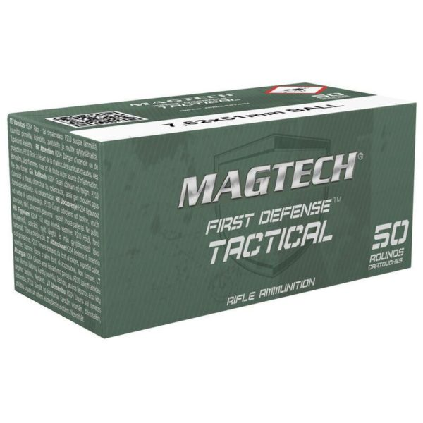 img 5092 600x600 - 500 Rounds of Magtech First Defense Tactical .308/7.62x51mm Ammunition 50 Rounds, FMJ, 147 Grains